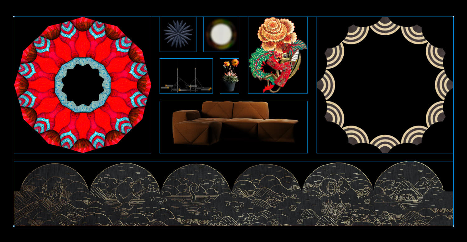 Moooi Case Study. PNG Assets