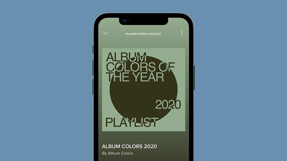Couvertures Spotify et Apple Music.