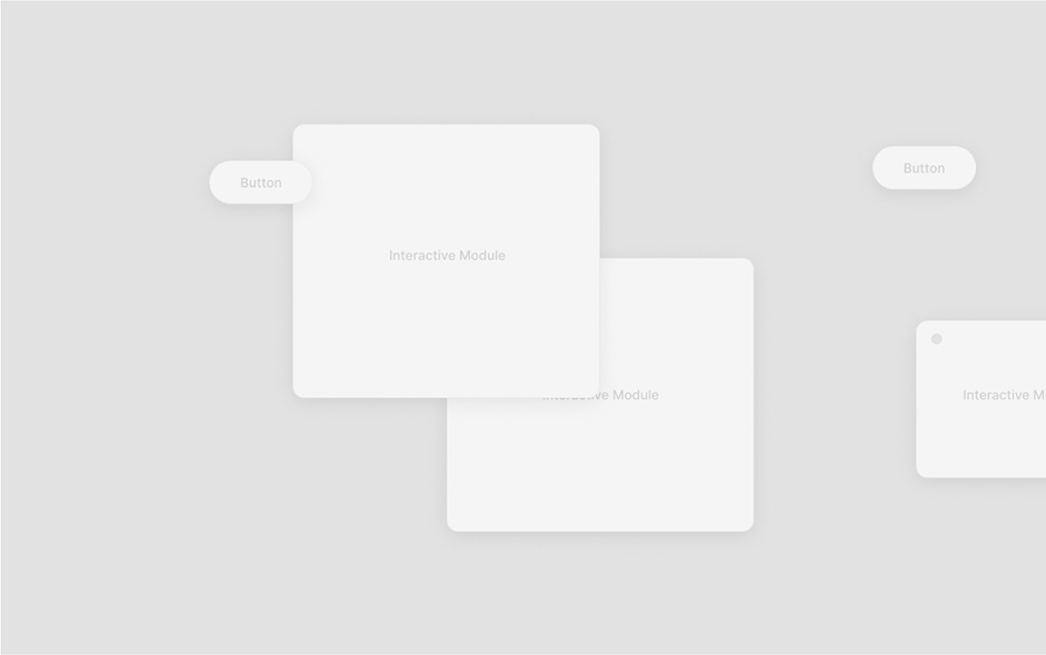 Wireframes for buttons and pop-up window