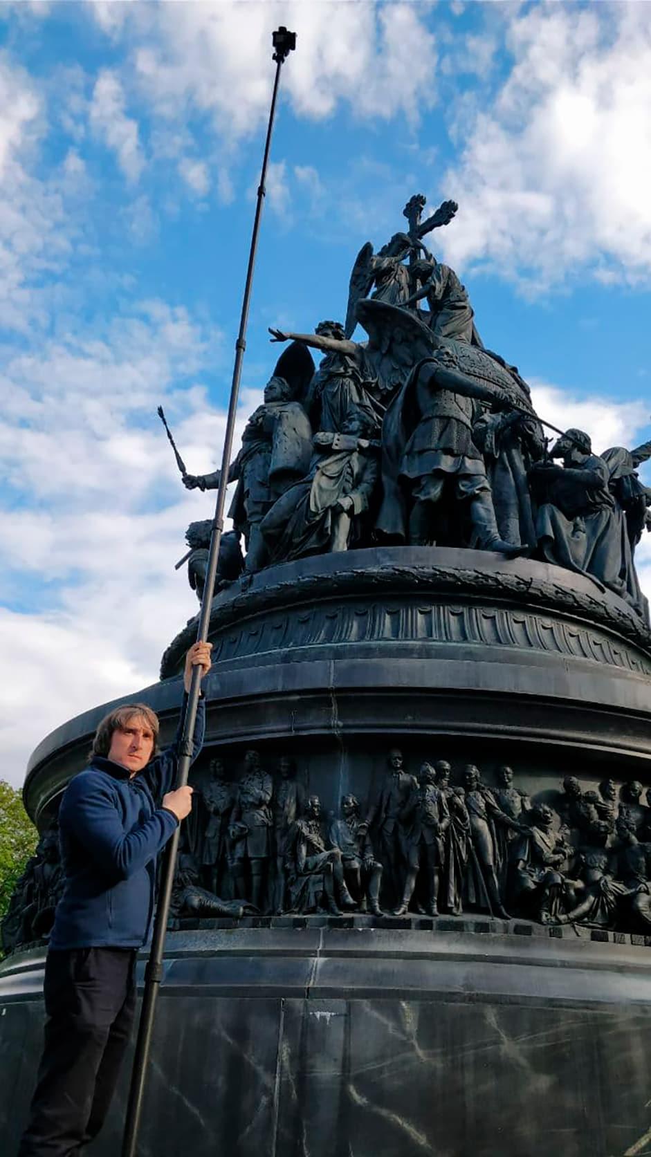 Millennium of Russia monument