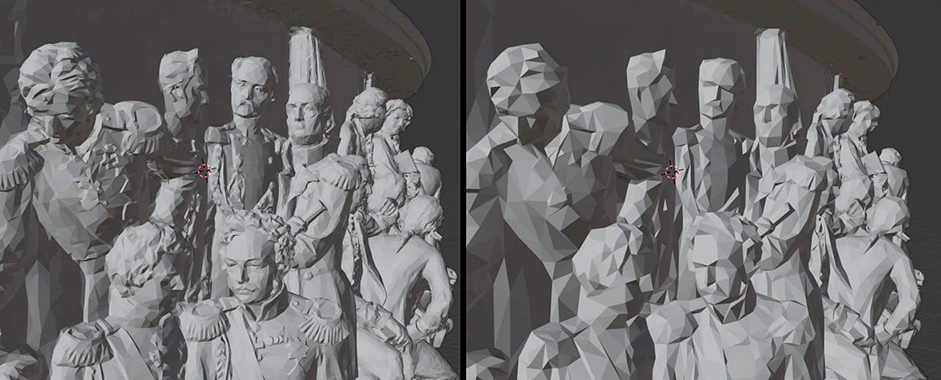 Human figures rendered in a 3D software