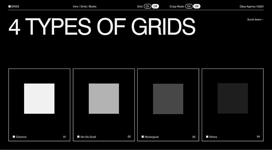Logotipe design for Grids by Obys
