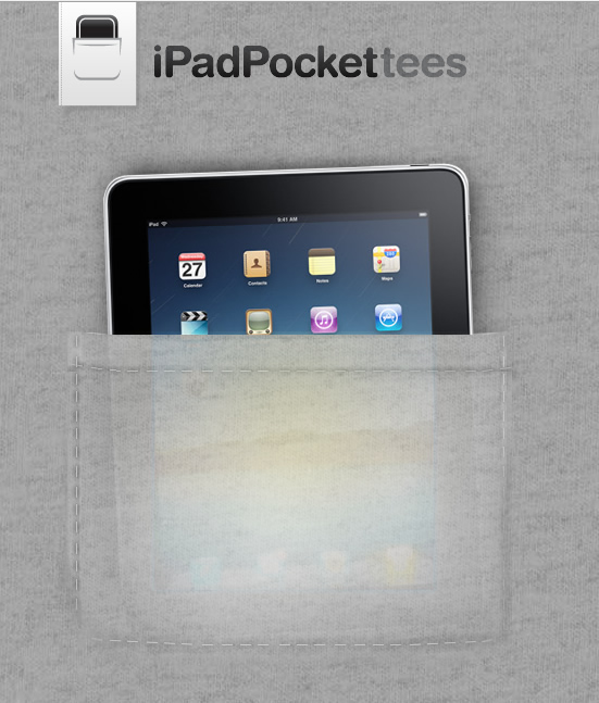 iPad Pocket Tees
