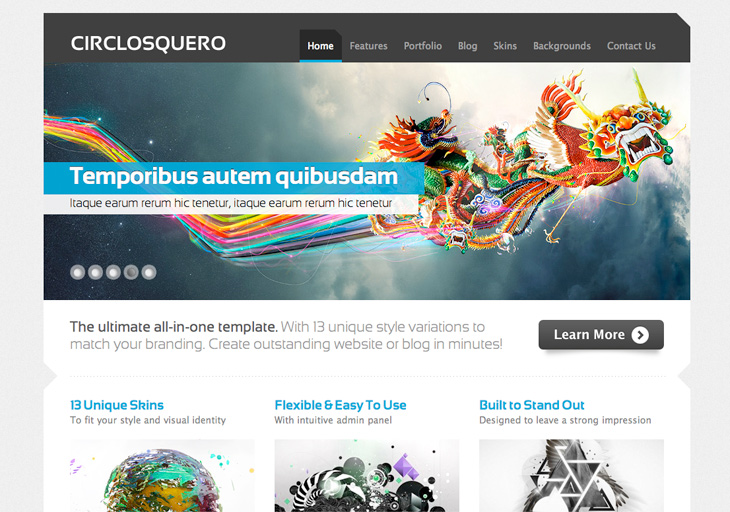 Circlosquero - Wordpress Theme