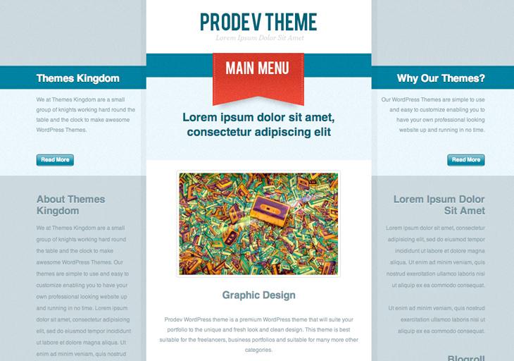 Prodev Theme