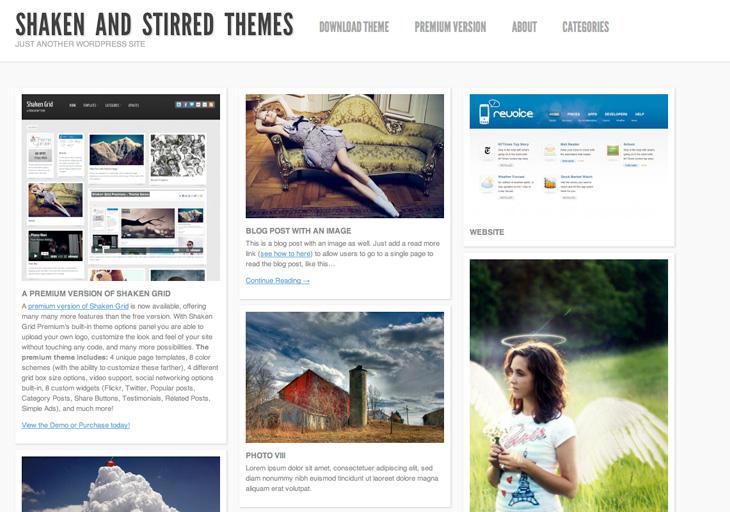 Shaken Themes