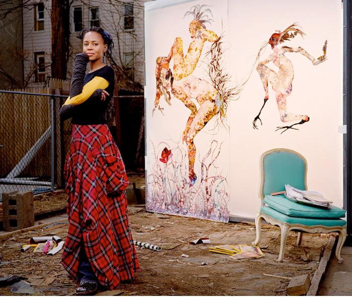 Creative Celebrity Portrait by Martin Schoeller