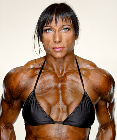 Female Bodybuilders by Martin Schoeller