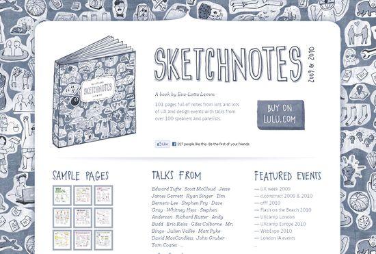 Sketchnotes 2009 & 2010