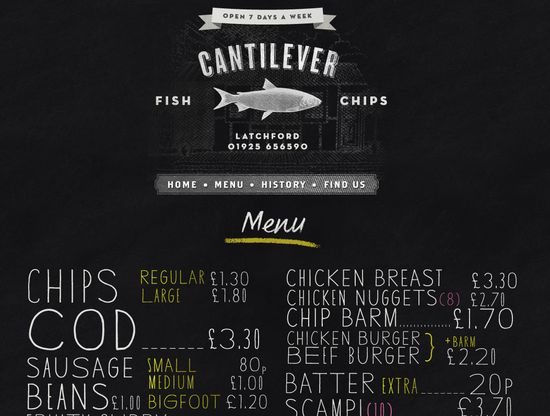 Cantilever Fish & Chips
