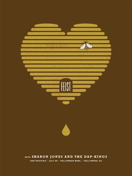 Show artist: Feist | Poster designer: Micah Smith