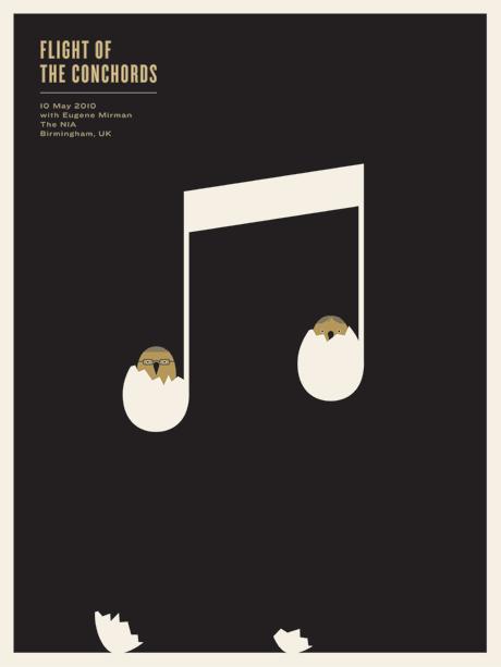 Show artist: Flight Of The Concords | Poster designer: Jason Munn