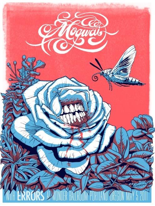 Show artist: Mogwai | Poster designer: Jeff Proctor
