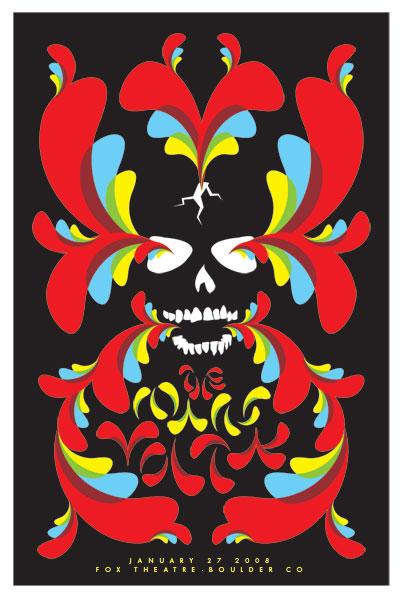 Show artist: Mars Volta | Poster designer:  Dan Stiles