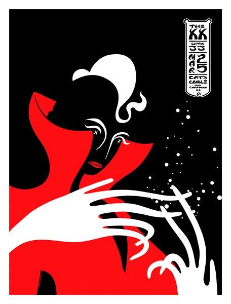 Show artist: Xx | Poster designer:  James Flames