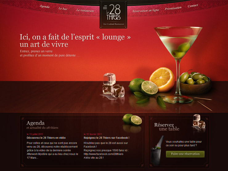 Le 28Thiers: Bar Cocktail Restaurant