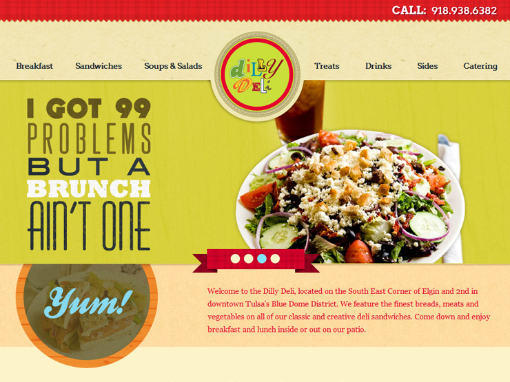 Tasty design: Restaurant and catering websites
