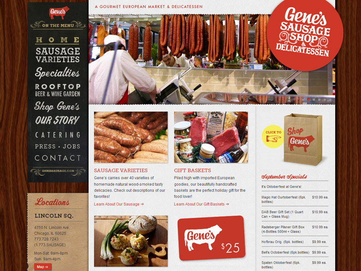 Tasty design: Restaurant and catering websites