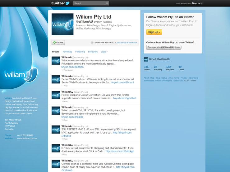 Wiliam Pty Ltd