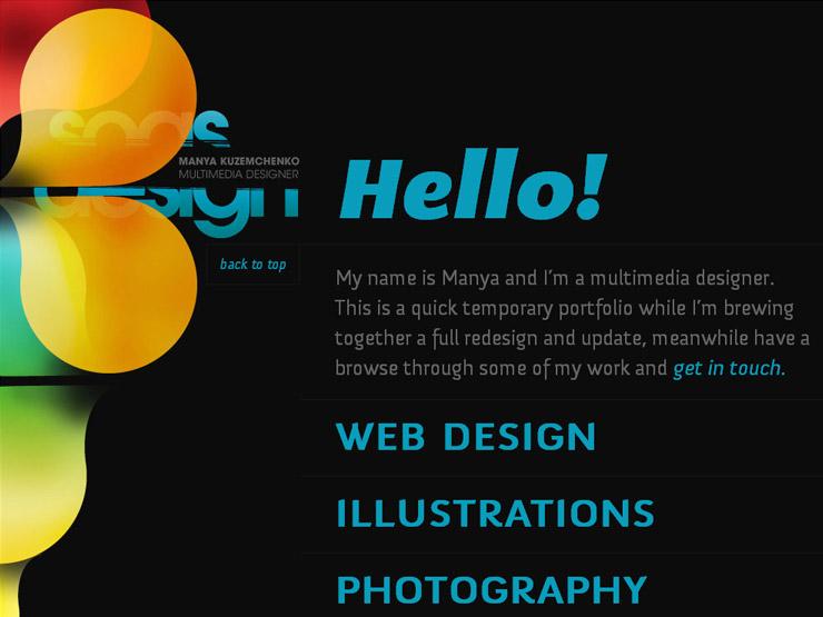 SOASdesign | Portfolio of Manya Kuzemchenko