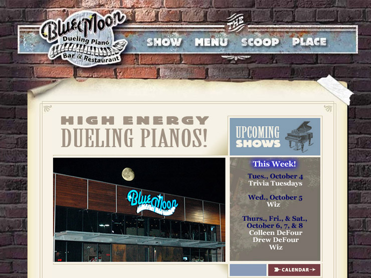 Blue Moon Dueling Piano Bar