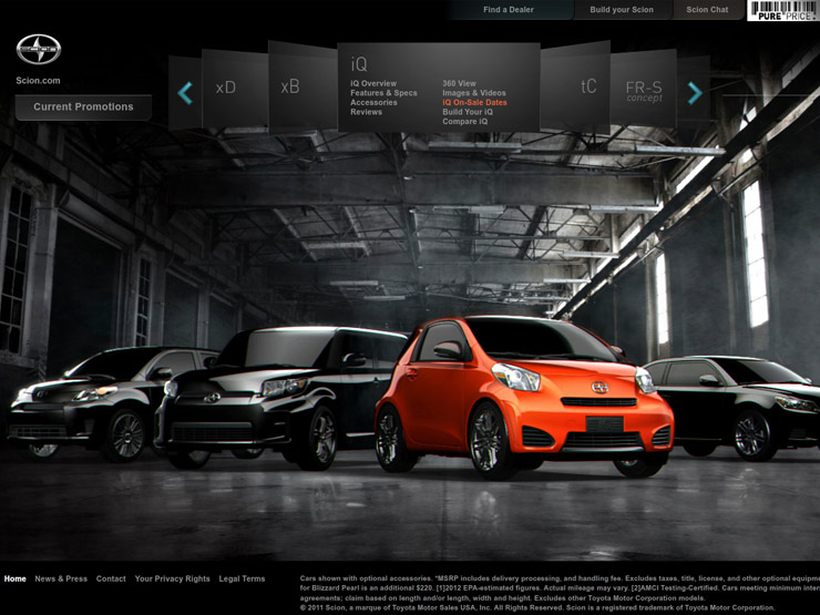Great Automotive Websites - Cool car websites
