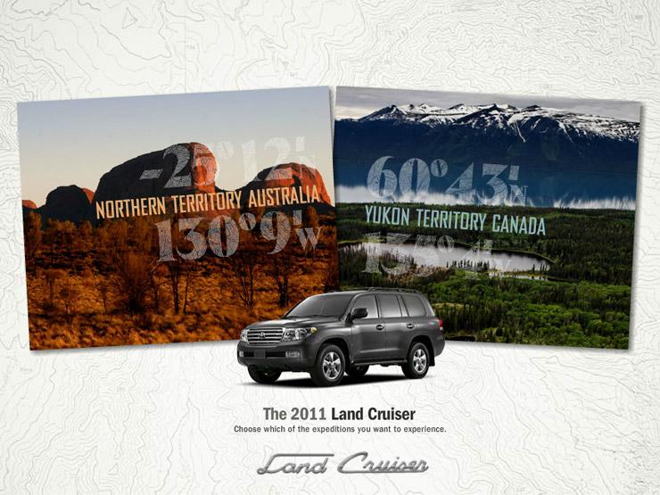 2011 Land Cruiser SUV Australia and Yukon
