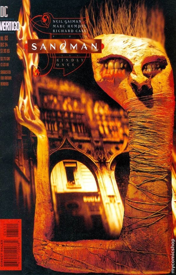 The Sandman #65 (The Kindly Ones, 9) | Cover by Dave McKean
