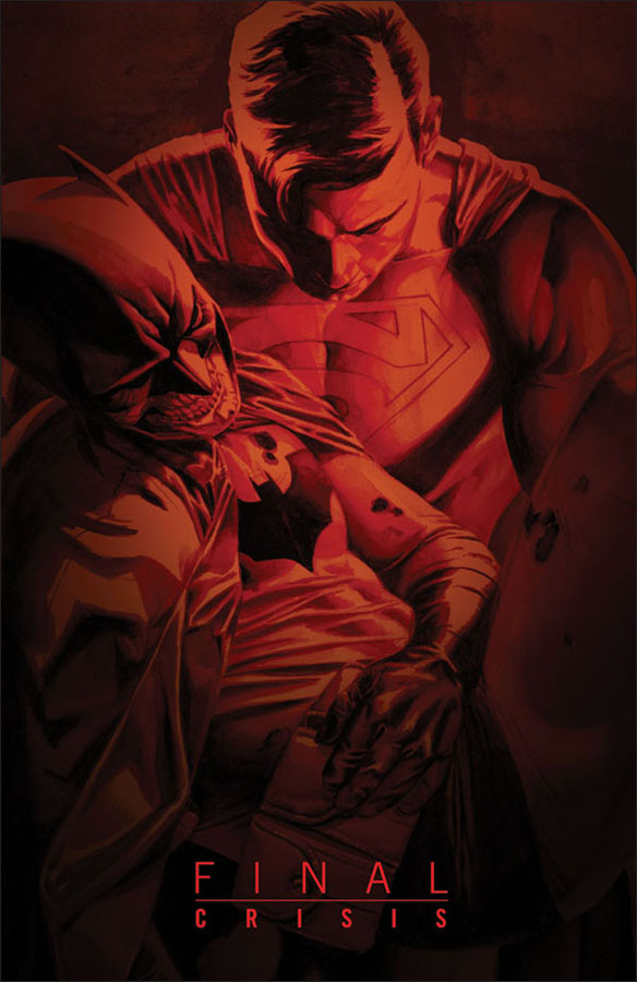 Batman Final Crisis | Cover by J.G. Jones