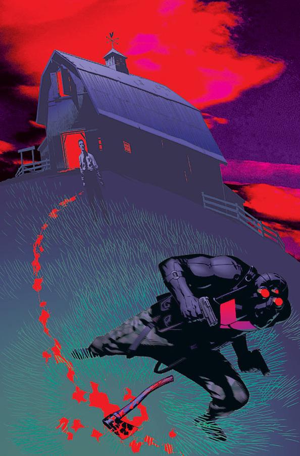 Vigilante #5 | Cover by Michael Golden