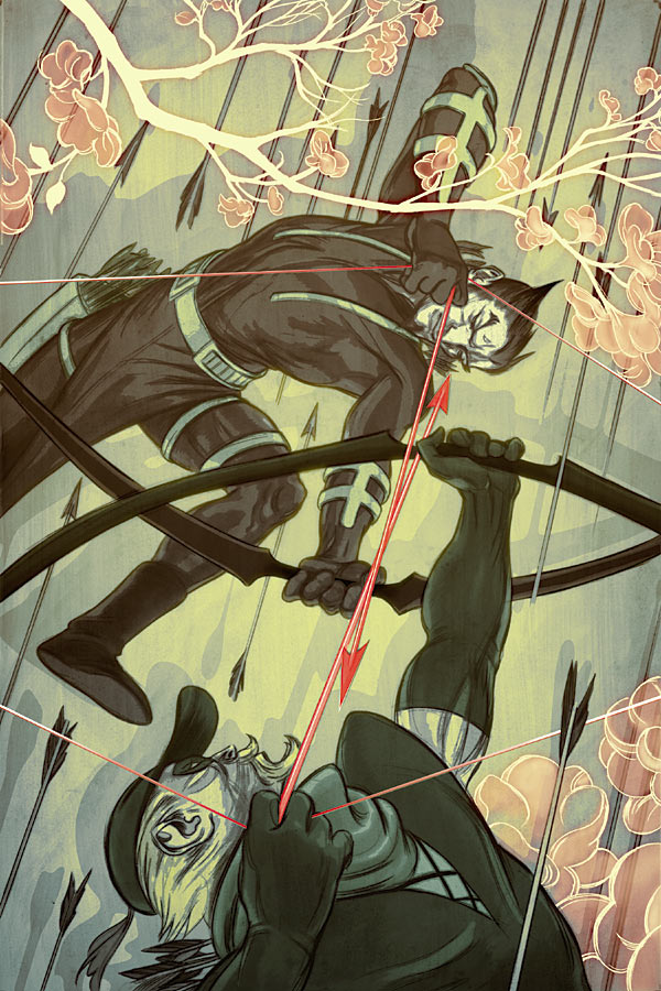 Green Arrow #58 | Cover by James Jean