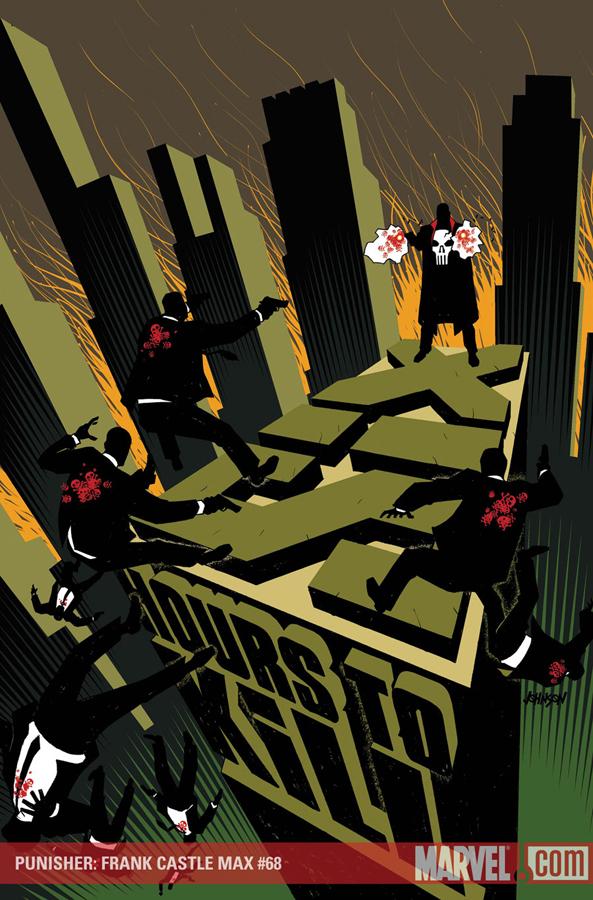 Punisher: Frank Castle #68  | Cover by Tim Bradstreet