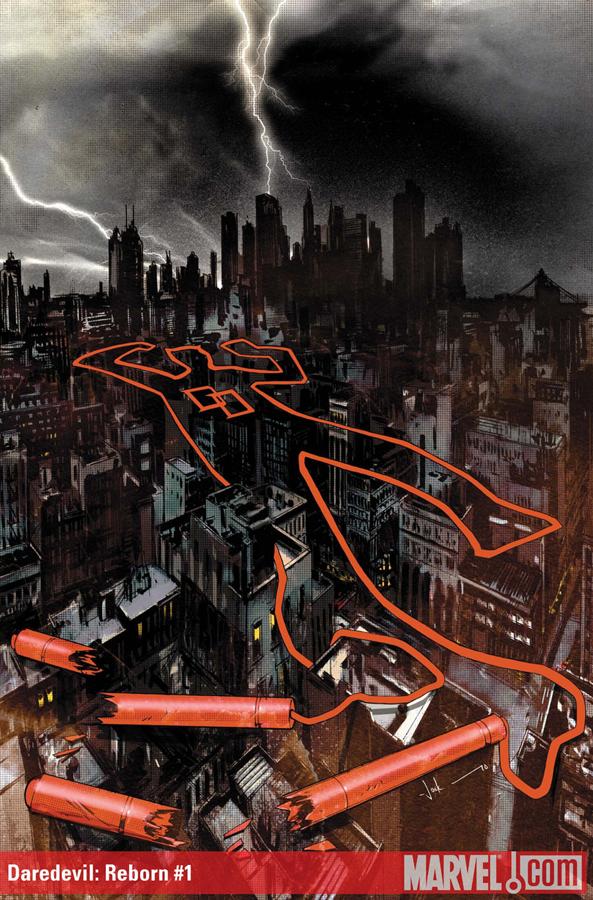 Daredevil: Reborn #1 | Cover by Jock