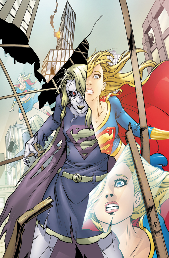 Supergirl #54  | Cover by Amy Reeder