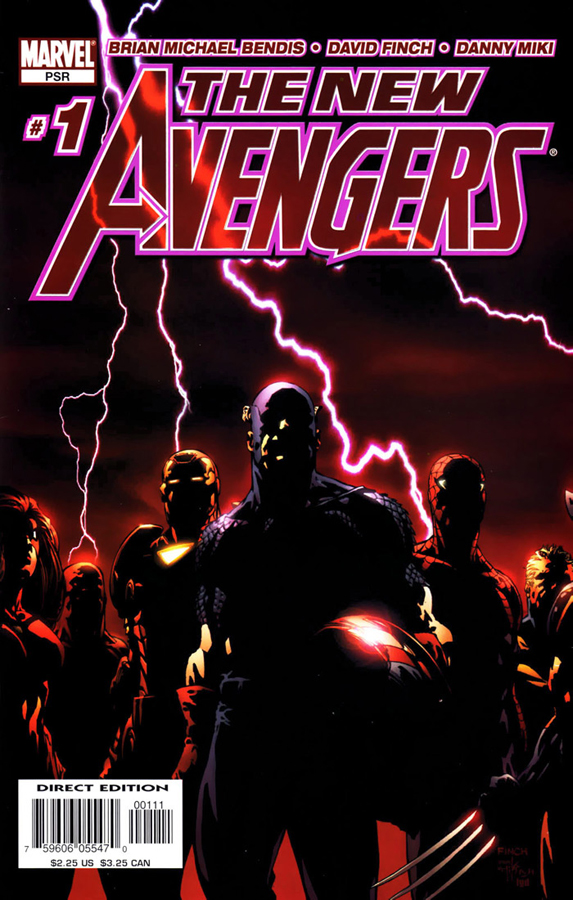New Avengers#1 | Cover by David Finch