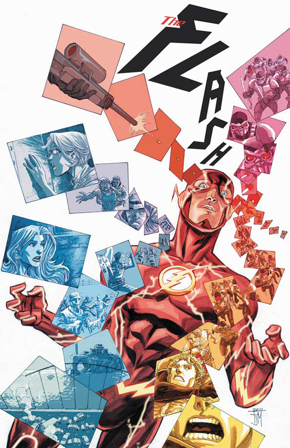 The Flash #4 Art and cover by Francis Manapul