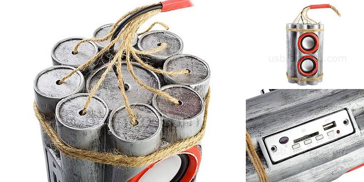 Bombshell Styled Portable Speaker