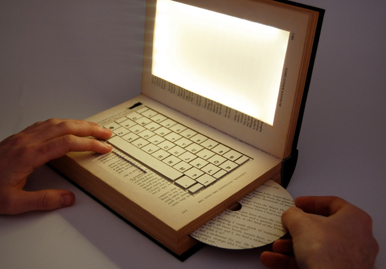 A book/laptop hybrid model