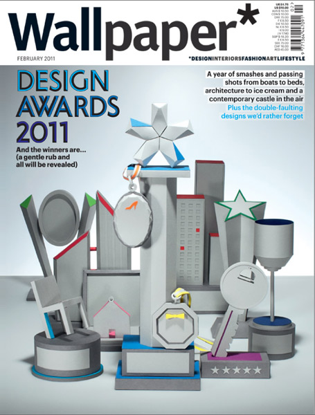 Wallpaper* Awards Issue Cover