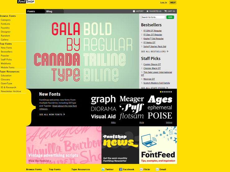 Font Shop