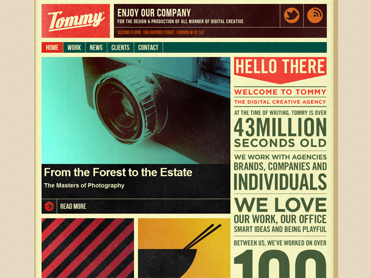 Tommy | Digital Creative agency