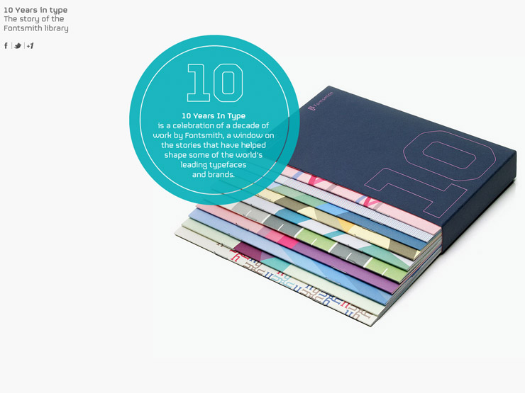 Fontsmith – 10 Years in type