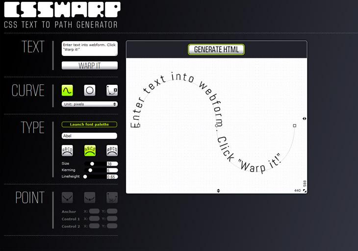 CSS Warp