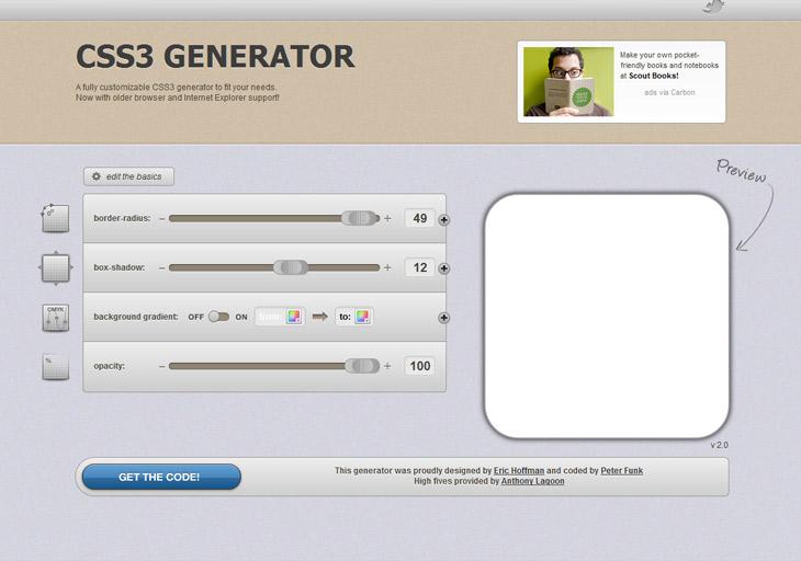 CSS3 Generator