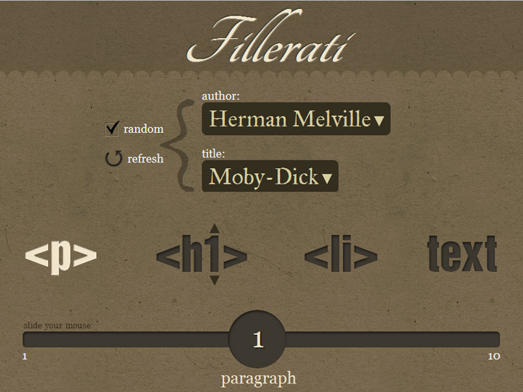 Fillerati - Faux latin is a dead language