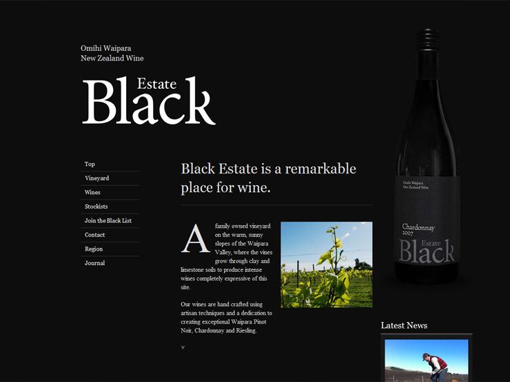 Black Estate Vineyard