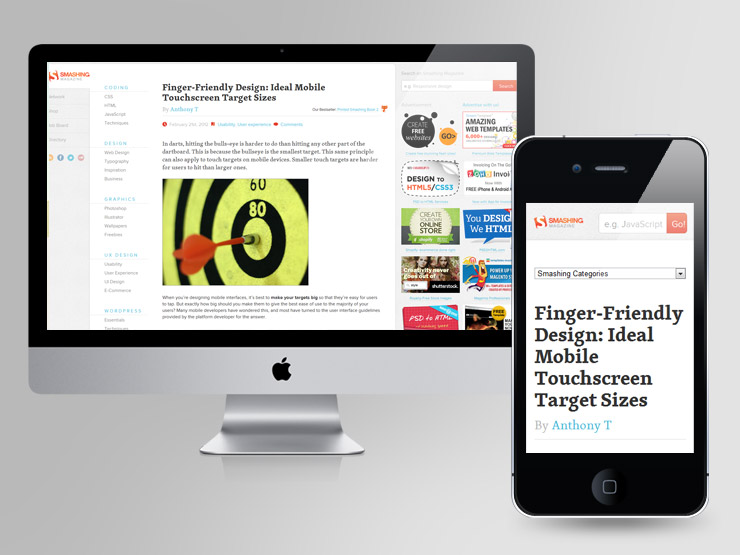 50 Examples of Responsive Web Design (plus 1) on