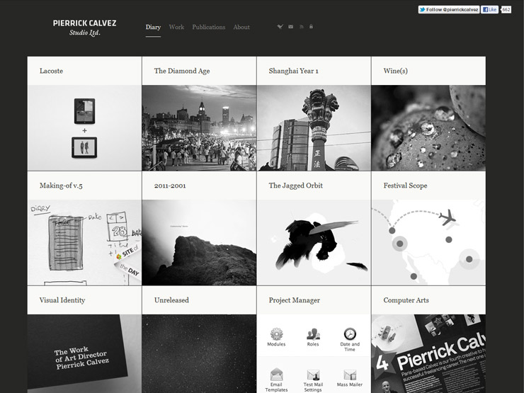 30 Grid Based Websites