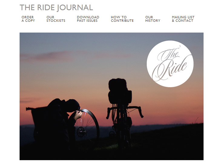 The Ride Journal