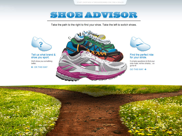 Brooks Shoe Advisor by Live Area Labs